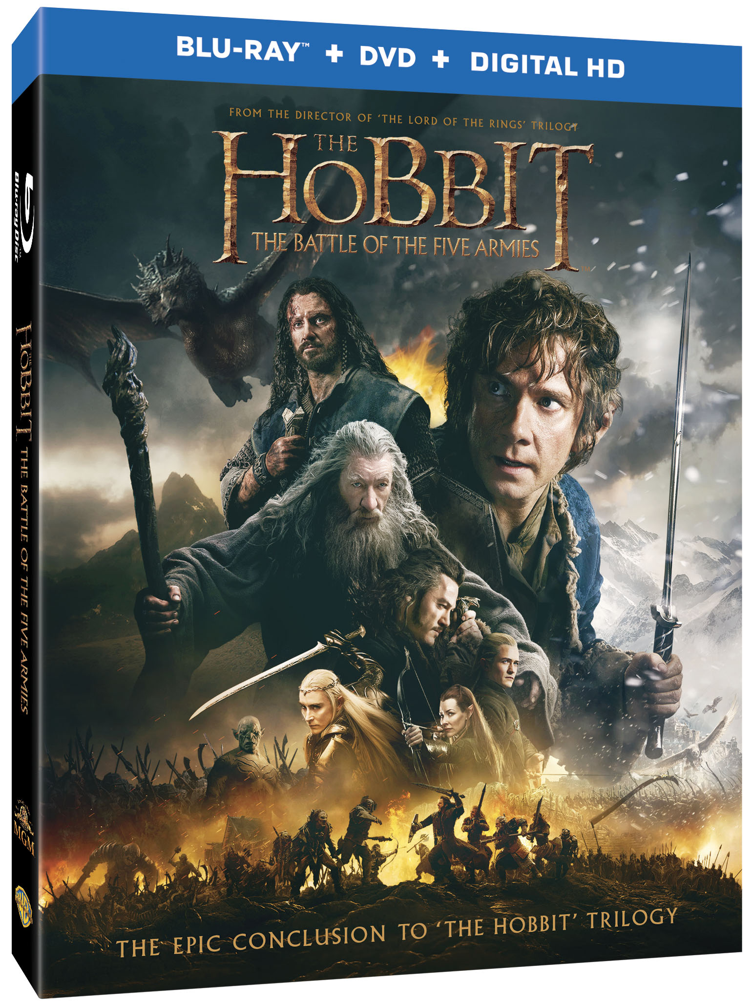 when does the new hobbit come out on dvd