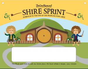 Shire Sprint Bib