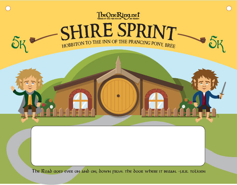 Shire Sprint Bib