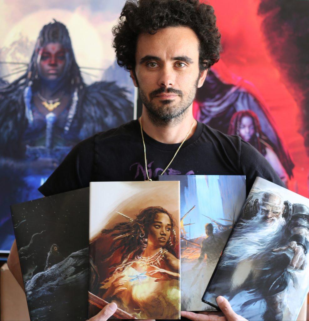 Sebastian A. Jones of Stranger Comics