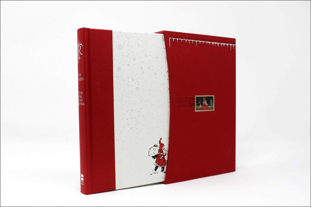 Letters from Father Christmas, Deluxe Slipcase Edition, published by Harper Collins in October 2019 at an appropriately deluxe price point.