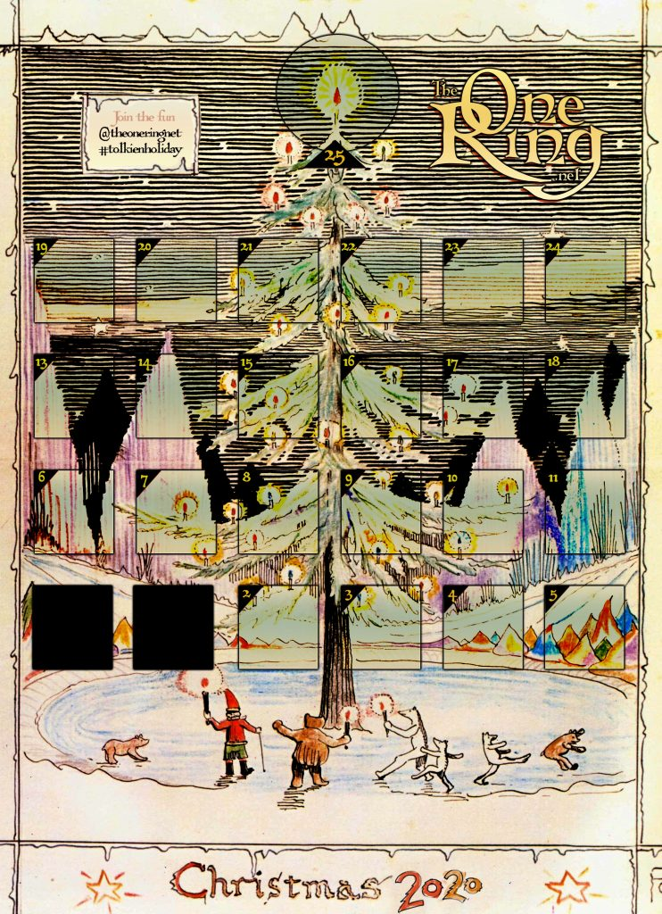 Advent Calendar 2020 #tolkienholiday