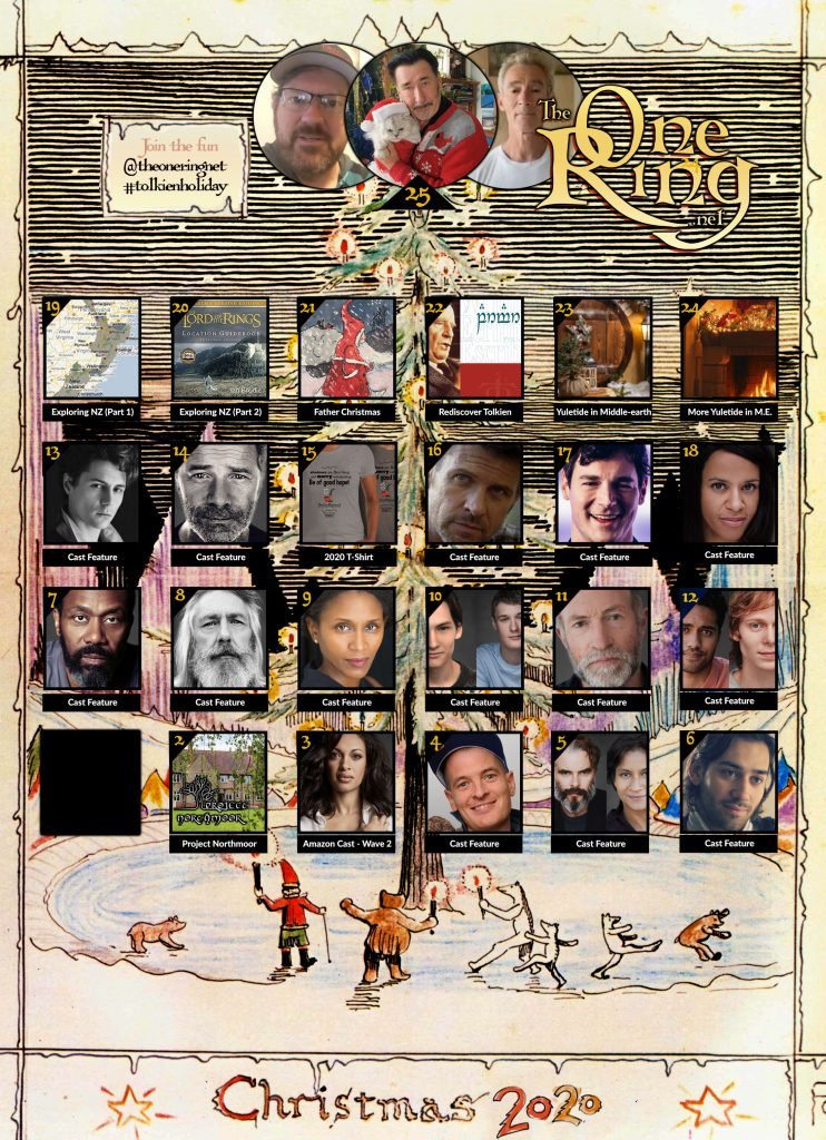 Our last day of TheOneRing.net's Tolkien Advent Calendar 2020