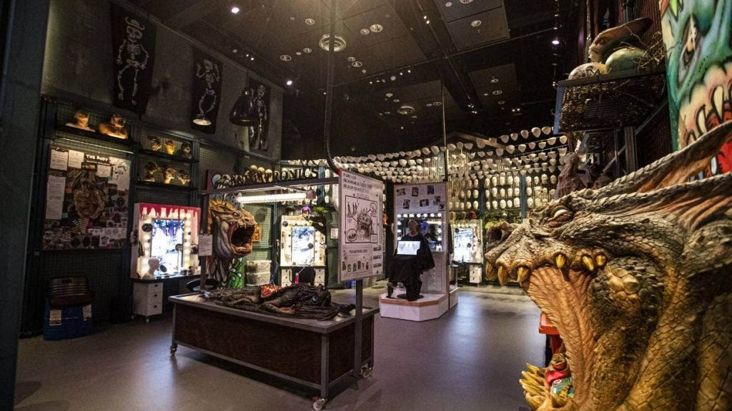An incredible display at WETA Workshop Unleashed