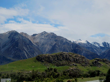 Number 5: Mount Sunday/Edoras - Sadly, Meduseld is no more, but the view remains. And cows.