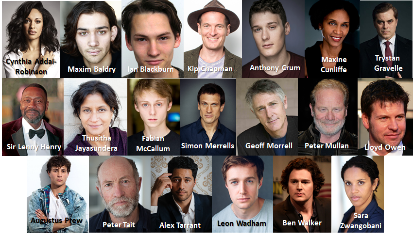 A montage of all the official cast announcements for Wave 2 of Amazon's The Lord of the Rings series.