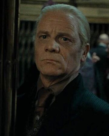 Peter Mullan as Corban Yaxley in Harry Potter and the Deathly Hallows