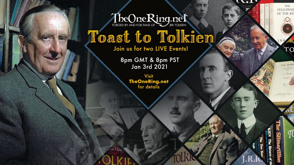 Tolkien Birthday Toast January 3rd 2021 - Join use as we Toast The Professor's Birthday!