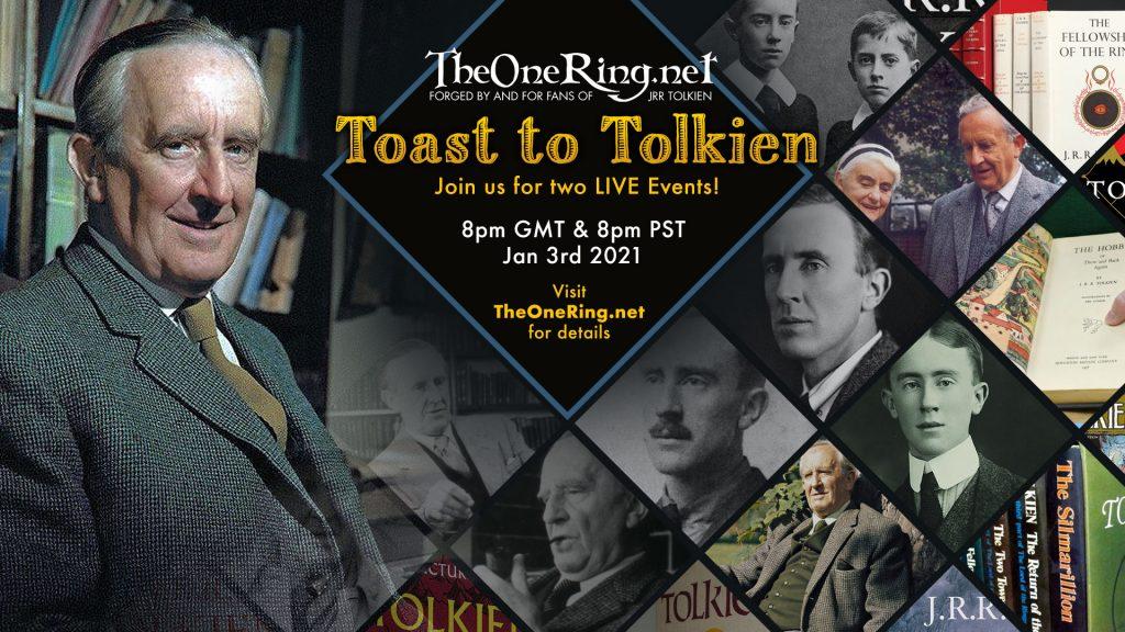 Tolkien Birthday Toast January 3rd 2021 - Join use as we Toast The Professor's Birthday!