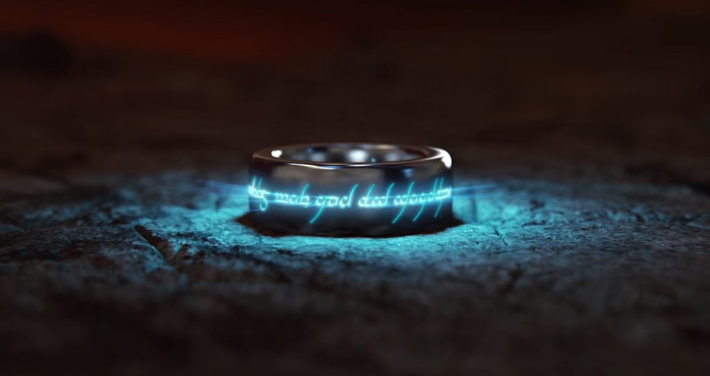 The One Ring from the video game 'Middle-earth: Shadow of War'