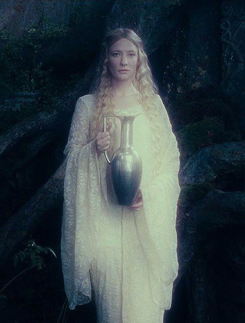 Galadriel in Peter Jackson's Fellowship of the Ring