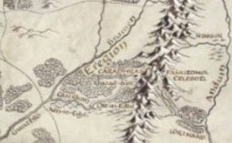Eregion from the LOTR on Prime map