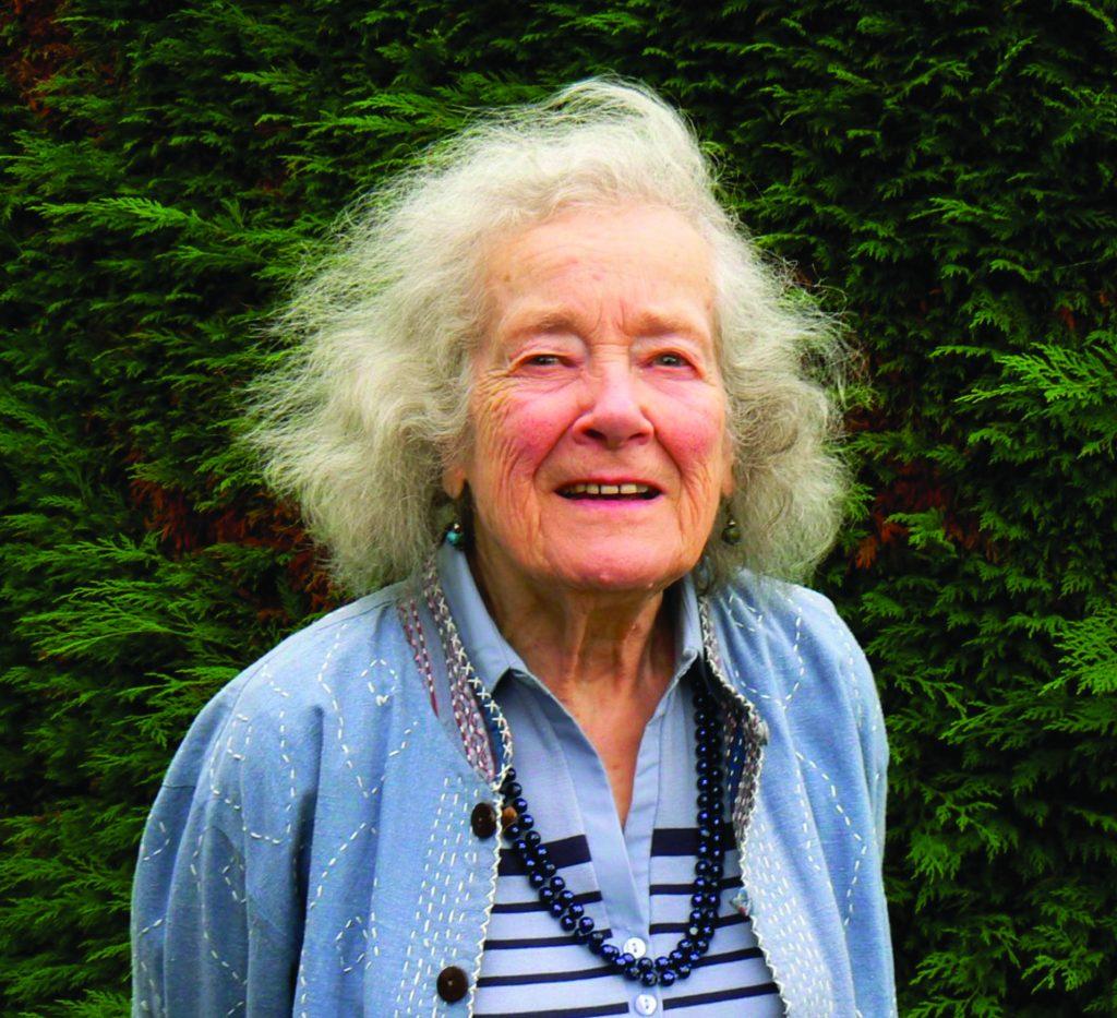 Photograph of artist Pauline Baynes